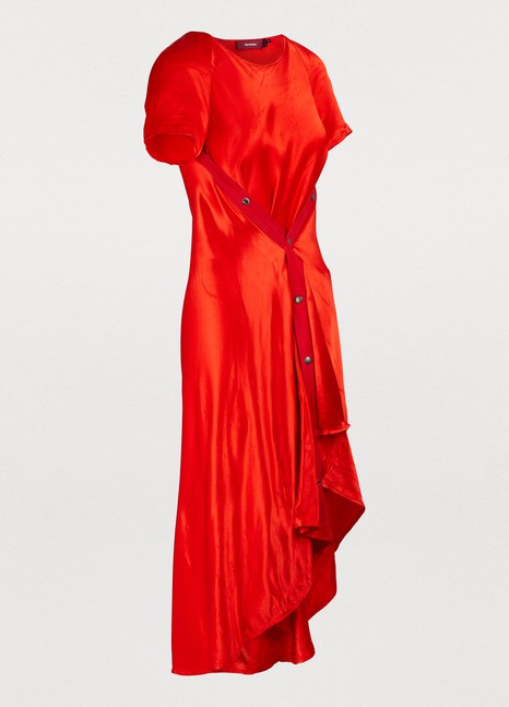 SIES MARJAN Satin Sophie dress