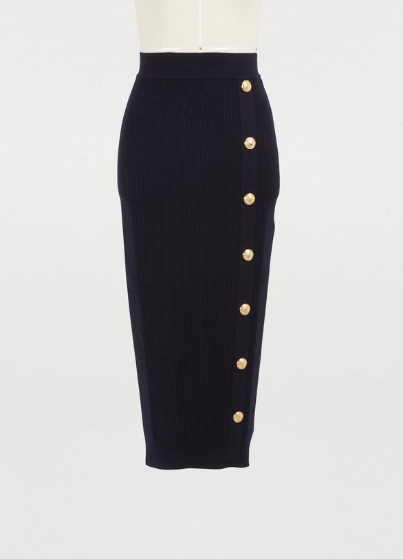 BalmainWool skirt