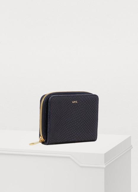 A.P.C.Emmanuelle leather wallet