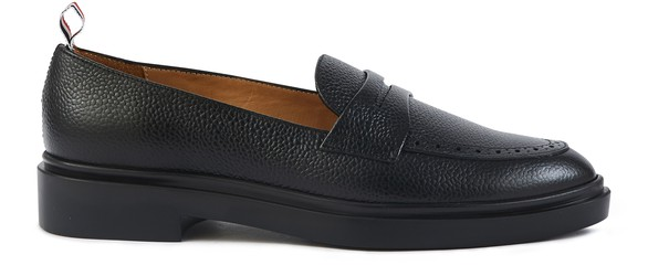 THOM BROWNELeather loafers