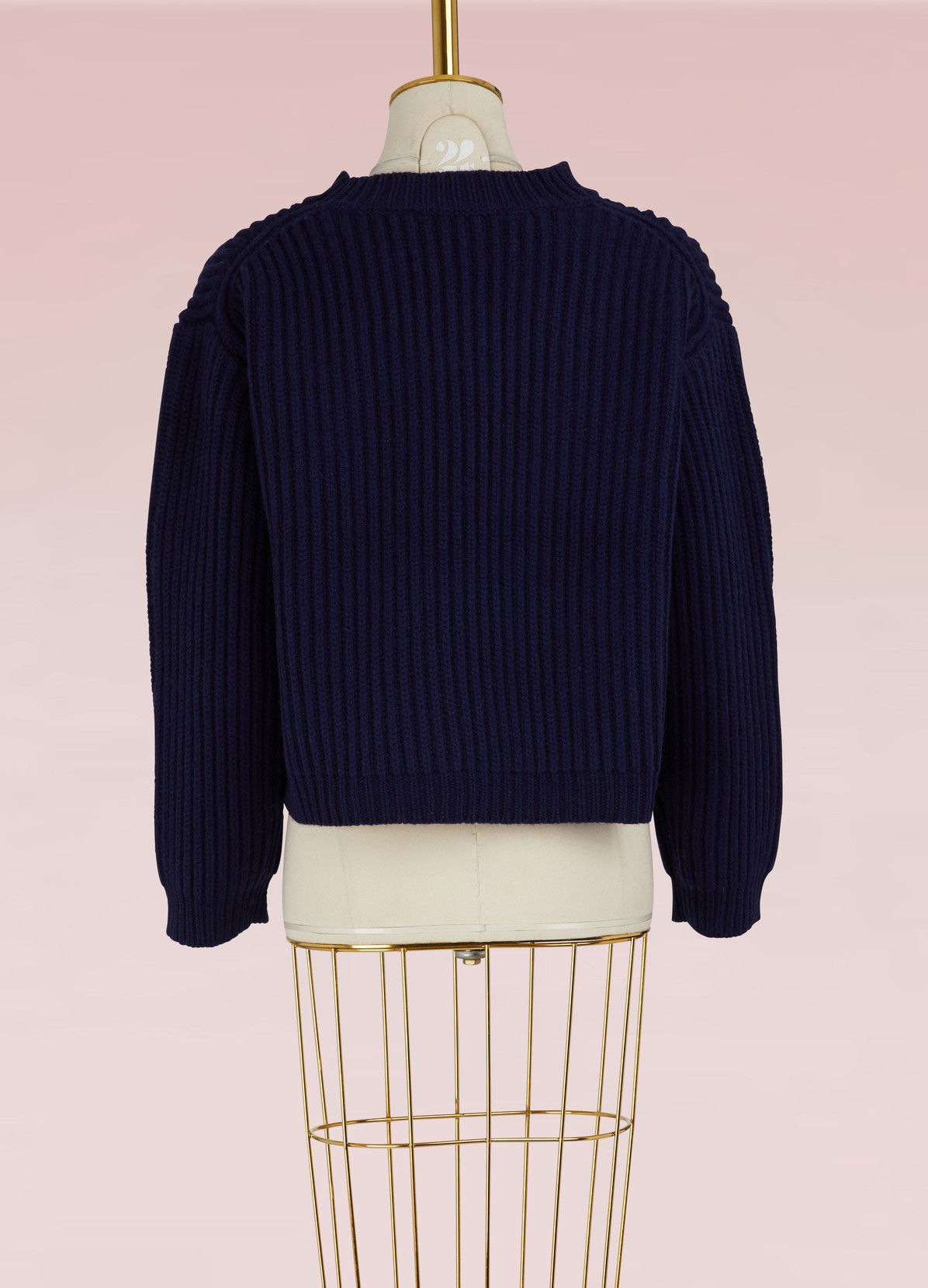 Wool cropped sweater | SOFIE D'HOORE | 24 Sèvres