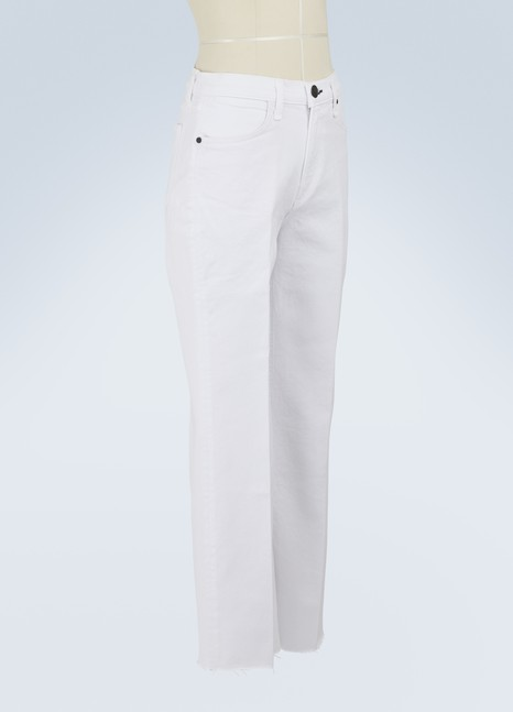 Rag & Bone Justine cropped straight jeans