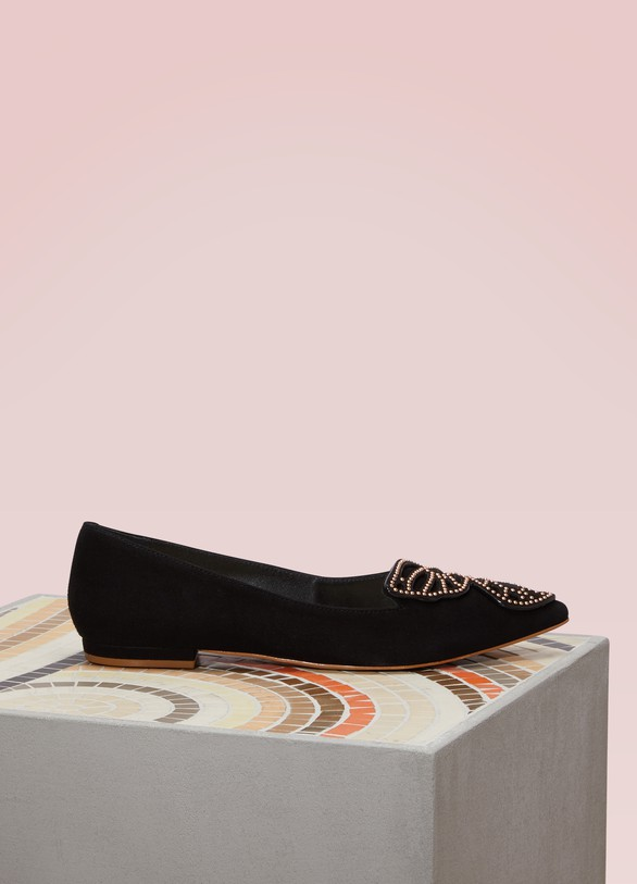 SOPHIA WEBSTER Ballerines Bibi Butterfly