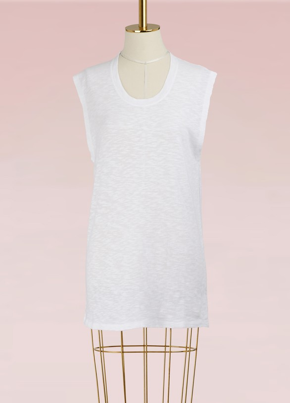 Zoe KarssenT-shirt sans manche en coton
