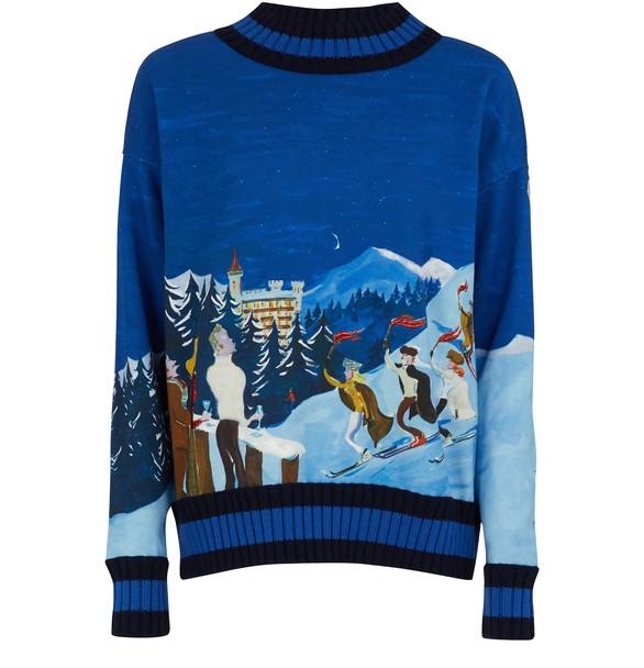 MONCLERPrinted sweater