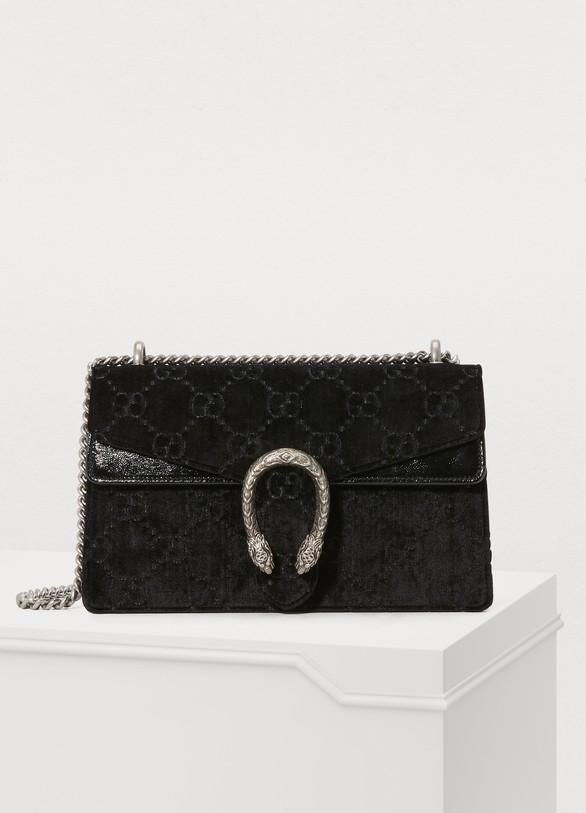 Women s Dionysus GG velvet MM crossbody bag   Gucci   24 Sèvres 604bf4a551b