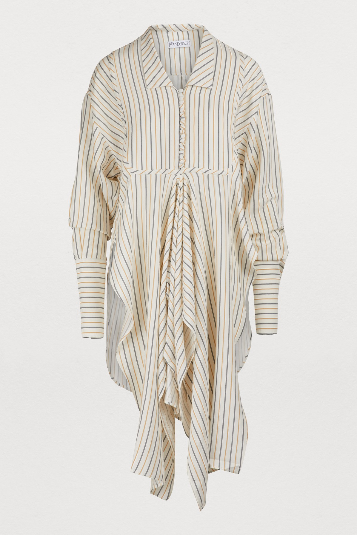 J.w.anderson LONG STRIPED SHIRT