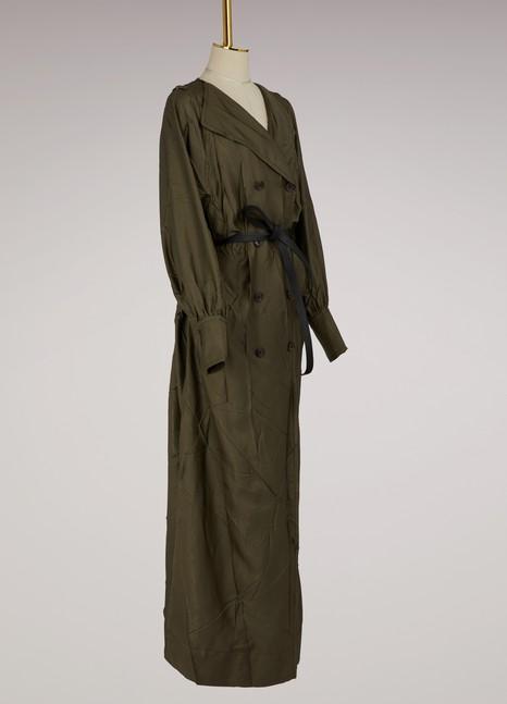 MAISON MARGIELARobe manteau extra long