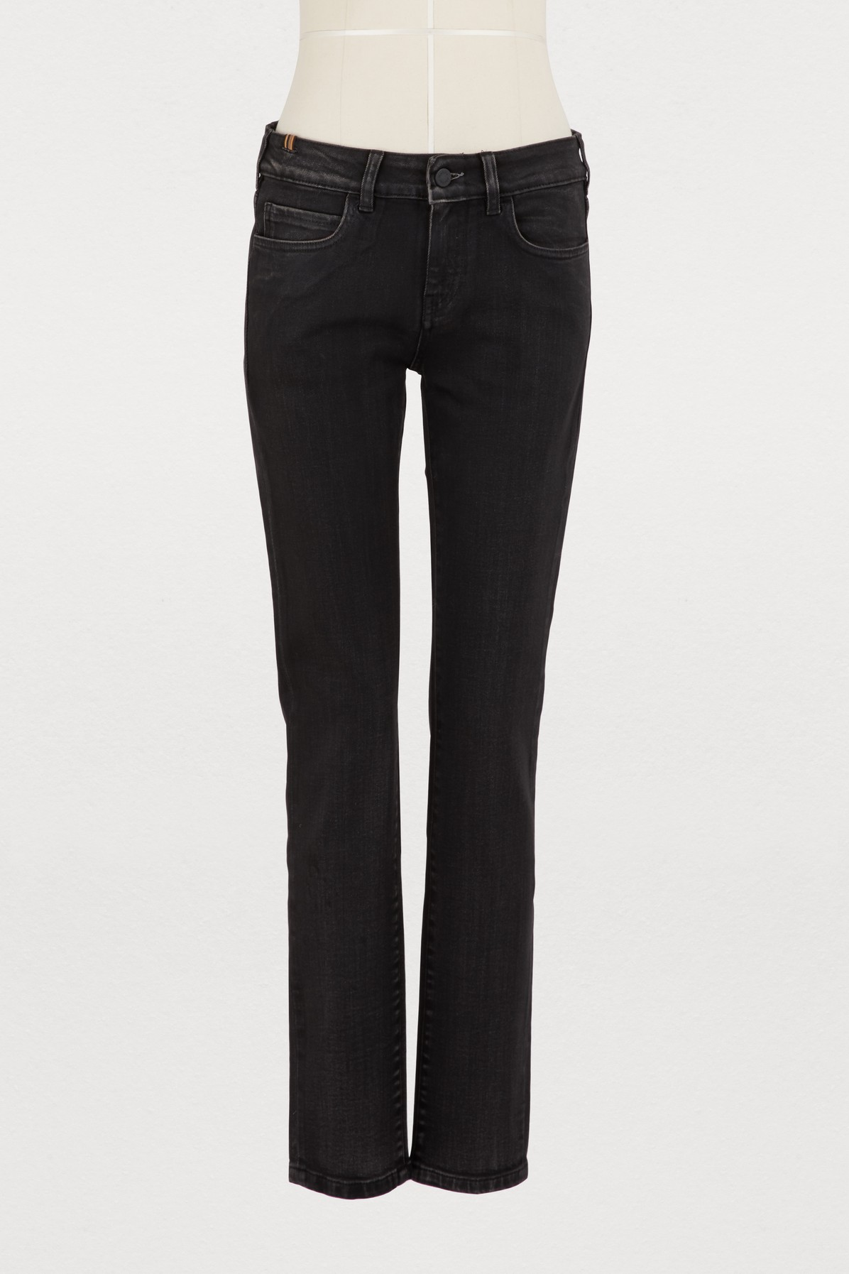 Jean Bamboo coupe skinny taille normale