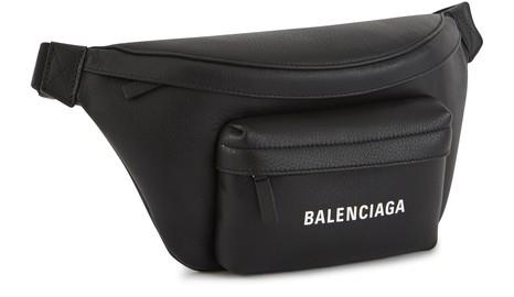 BALENCIAGASac ceinture en cuir Everyday