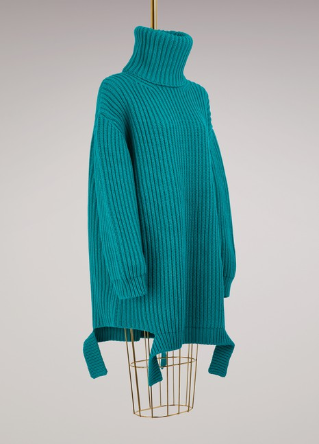 Balenciaga Oversized turtleneck sweater