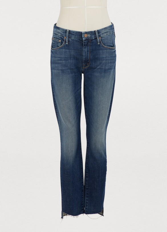 56894810ea9a2 Mother. Mother The Looker high-waisted cropped skinny jeans
