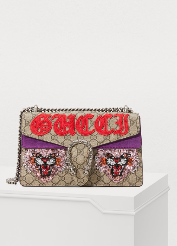 6f9c56b44bf2 Gucci. Gucci Dionysus Embroidered Shoulder Bag