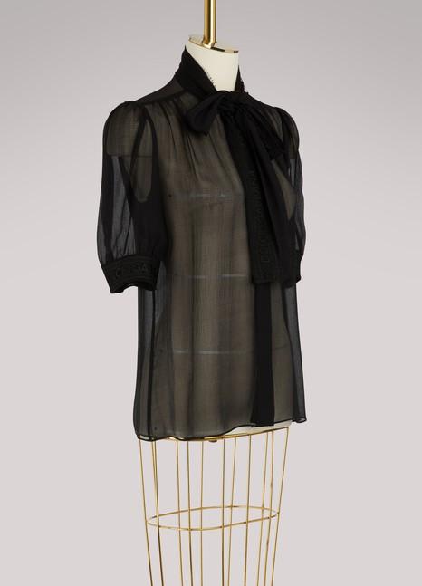 Dolce & GabbanaSilk shirt