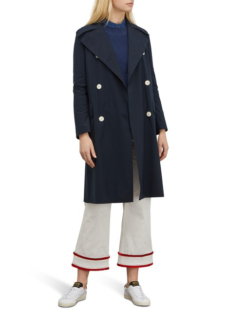 HARRIS WHARF LONDONMilitary coat