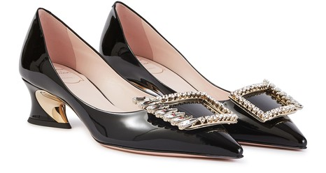ROGER VIVIER Polichinelle Wings pumps