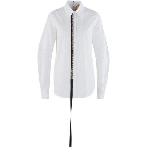 N 21 Sequin shirt