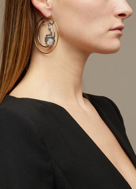 Alexander McQueenBoucles d'oreilles à perles