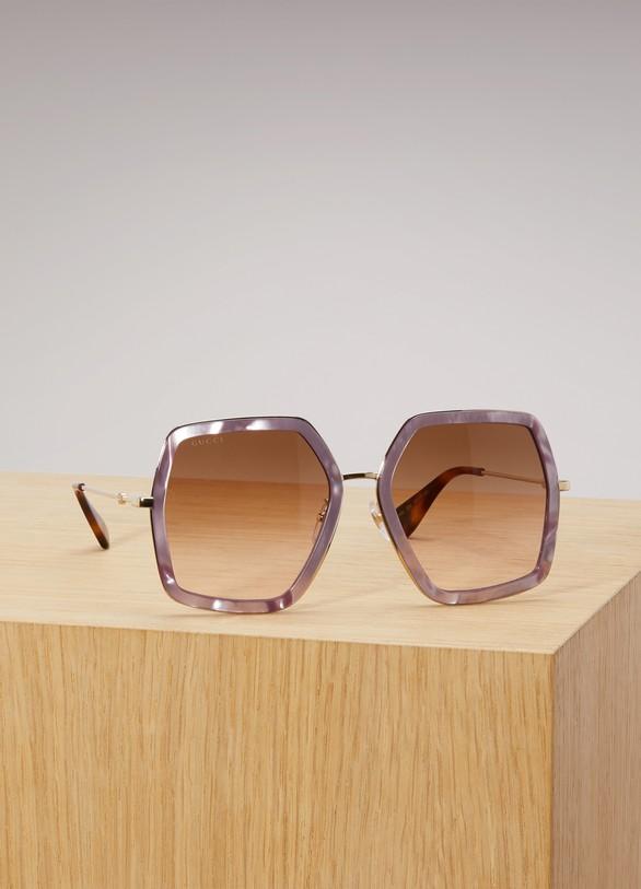 4ebeab84320f5 Women s Oversize square-frame sunglasses
