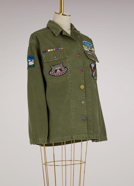 Mira MikatiCotton scout overshirt