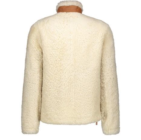 LOEWEShearling leather coat