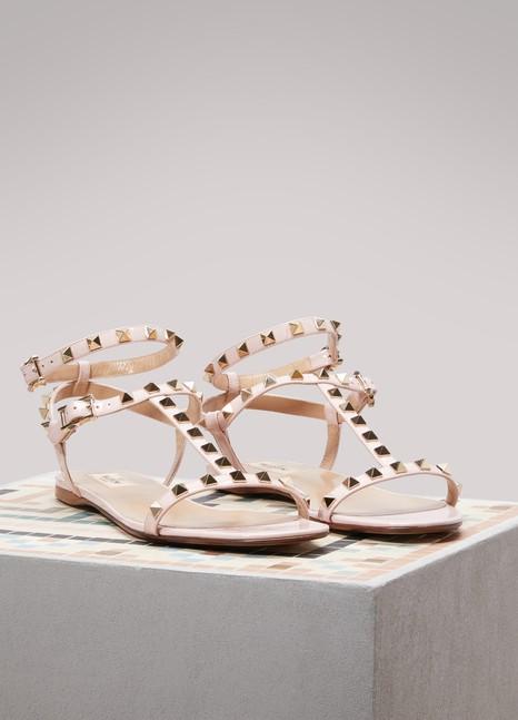 VALENTINOValentino Gavarani Rockstud Flat Sandals