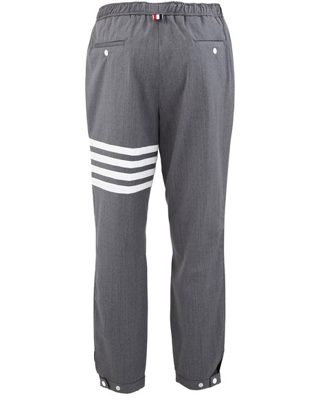 THOM BROWNESuper 120S 4-Bar trousers