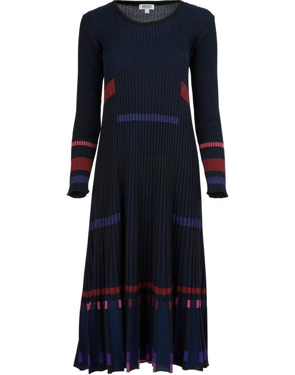 KENZOPleated rib dress