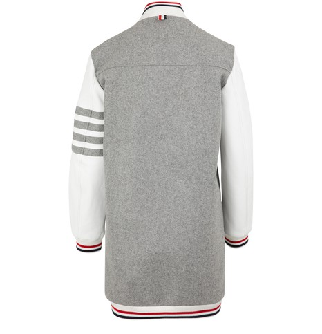 THOM BROWNELong wool jacket