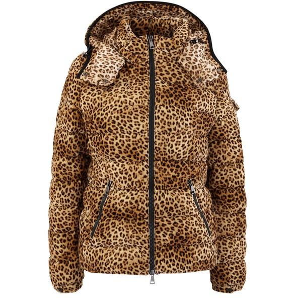 Leoparden Daunenjacke
