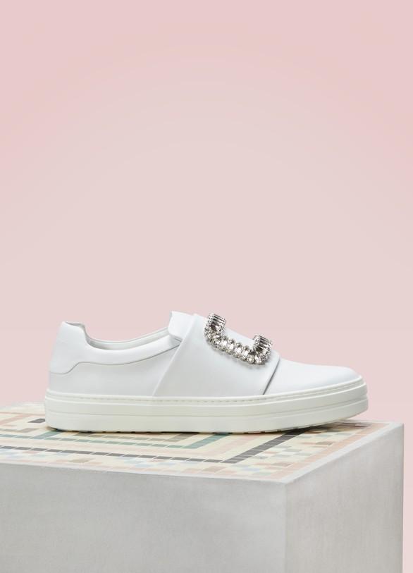 Roger VivierViv Strass Sneakers