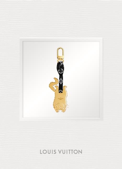 Louis VuittonBijou de sac et porte-clés Catogram Flying Cat