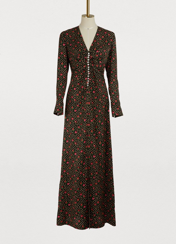 Miu Miu Silk maxi dress