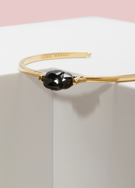 Isabel Marant Brass and Glass Bracelet