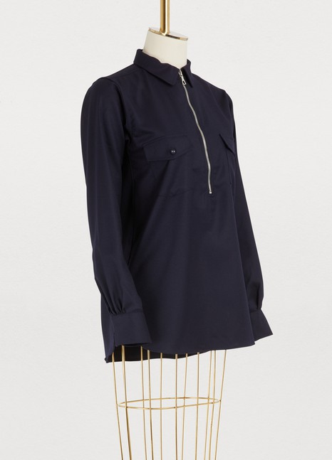 OFFICINE GENERALEJudith wool shirt