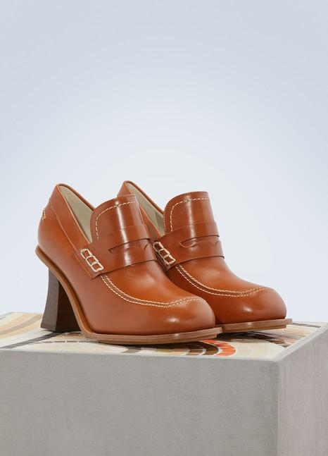 MarniHigh-heeled loafers