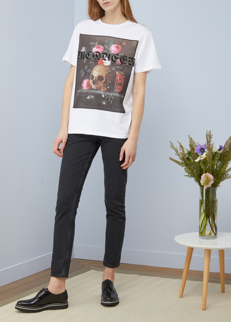 Alexander McQueenT-shirt imprimé