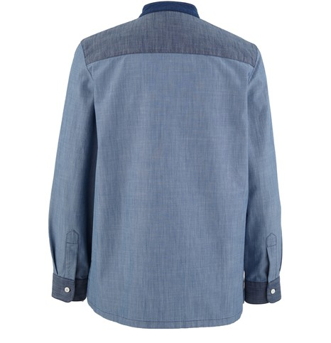A.P.C.Isaure Denim Patch Shirt