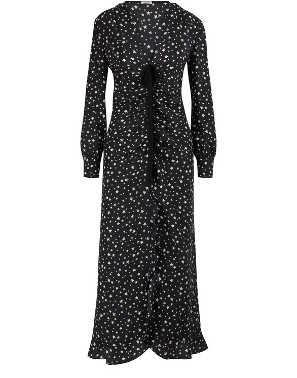 MIU MIUSilk maxi dress