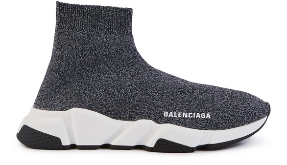 BALENCIAGASpeed leather trainers
