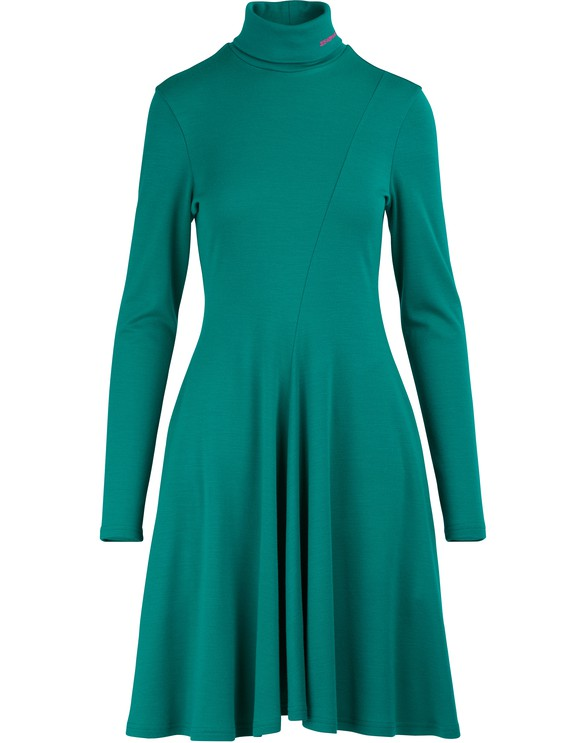 CALVIN KLEINLong-sleeved mini dress