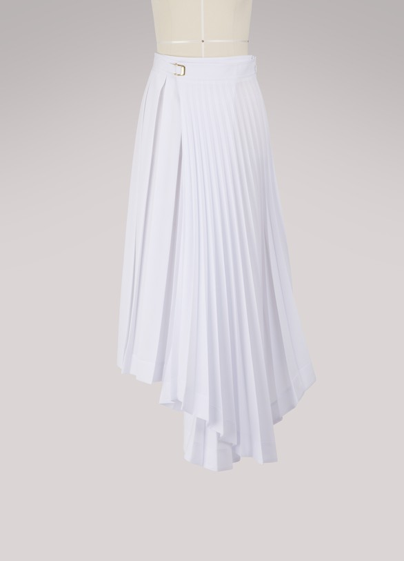 Women s Asymmetrical pleated skirt   Celine   24 Sèvres 4f11a63717