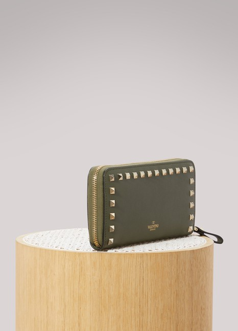 VALENTINO Portefeuille Zip Around Rockstud