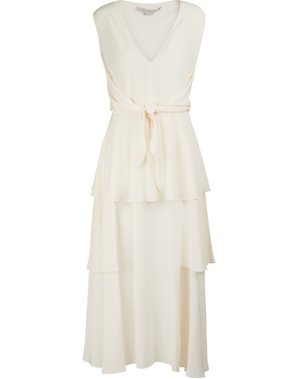 STELLA MCCARTNEYSilk midi dress