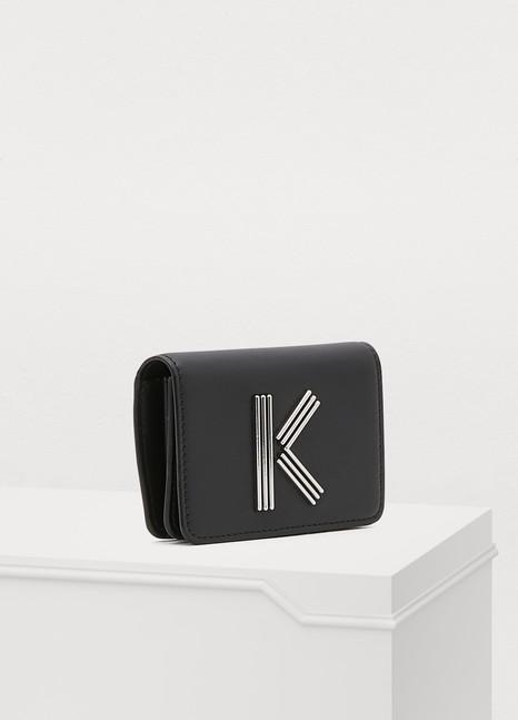 KenzoK leather card holder