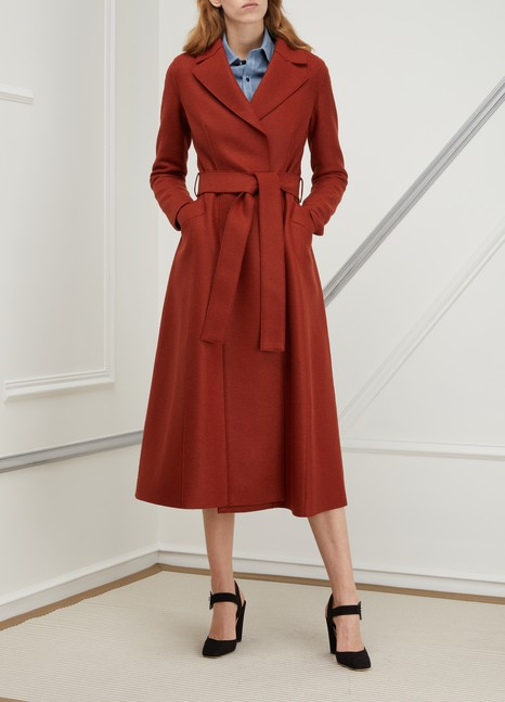 Harris Wharf London Virgin wool long coat
