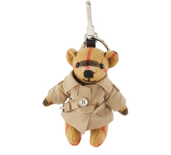 BURBERRY Thomas Bear Charm in Trench Coat
