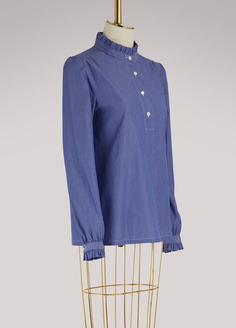A.P.C. Saint Germain cotton blouse