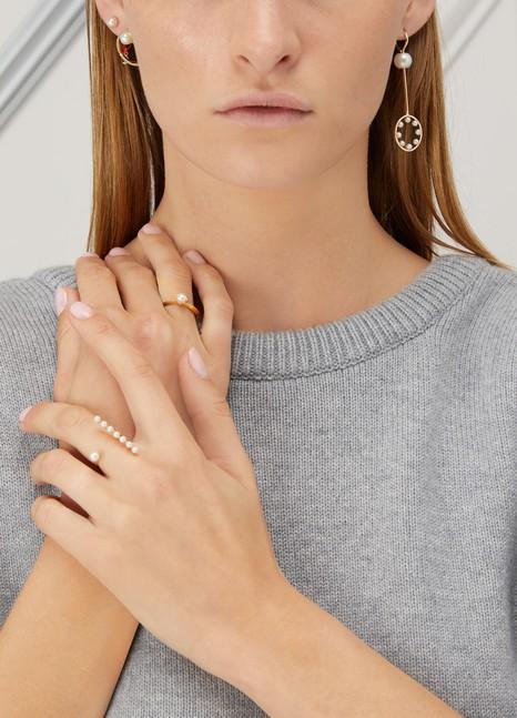 DELFINA DELETTREZBubble single pendant earring
