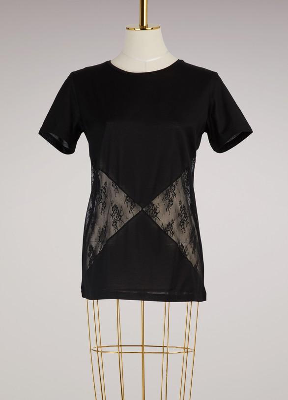 Nina RicciT-shirt en dentelle